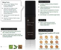 Voted in the Top Primers by totalbeauty.com.  Discover the luxurious Arbonne Makeup Primer