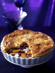 Winterse groentetaart met kaas en cranberry's  | ELLE Eten NL