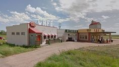 It's a sad day in Dog River as the famous set of the TV comedy Corner Gas is knocked down.
