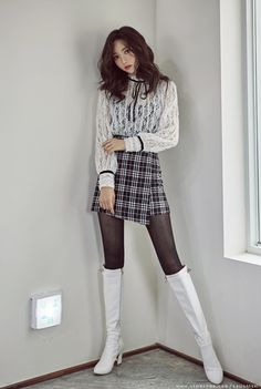 Korean Women`s Fashion Shopping Mall, Styleonme. Fashion Moda, Girl Fashion, Womens Fashion, Dress Fashion, Fashion Outfits, Older Women Fashion, Cosplay Outfits, Urban Outfits, Looks Style