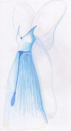 Blue Fairy's Dress by MOD37.deviantart.com