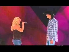 Blake Shelton and Miranda Lambert - You're The Reason God Made Oklahoma. This was a song made famous by David Frizzell and Shelly West, but I really like this version, too. This was back in 2005, before Blake and Miranda were a married couple.