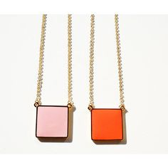 Not So Square Necklace