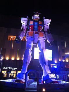 Gundam Odaiba.