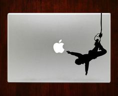 Bungee Jumping Macbook Decal Stickers