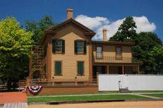 Springfield Illinois - Abraham Lincoln's Home