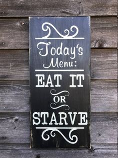 Kitchen sign funny kitchen sign Kitchen Menu sign hand painted wood sign primitive country decor - May 25 2019 at Country Farmhouse Decor, Farmhouse Style Kitchen, Country Primitive, Rustic Decor, Kitchen Country, Kitchen Rustic, Country Homes, Kitchen Ideas, Primitive Country Decorating