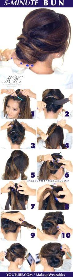idées coiffure femme facile tendance pour tous les jours 36