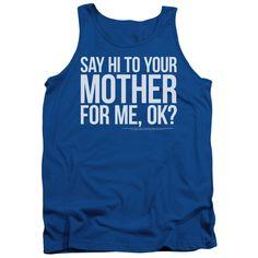 Saturday Night Live: Hi Mother Tank Top