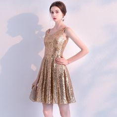 Sequined Cocktail Dresses Elegant V Neck Sleeveless Backless Formal Party Gowns Above Knee Sequined Cocktail Dresses Elegant V Neck Sleeveless Backless Formal Party dresses Dresses Short, Cheap Dresses, Elegant Dresses, Plus Size Dresses, Vintage Dresses, Casual Dresses, Backless Cocktail Dress, Cheap Cocktail Dresses, Sequin Cocktail Dress