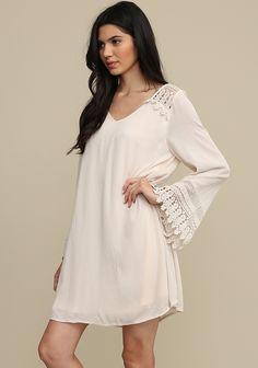 Dubai Long Sleeve Dress at threadsence.com