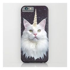 Unicorn Cat iPhone & iPod Case ($35) ❤ liked on Polyvore featuring accessories, tech accessories and iphone & ipod cases