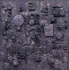[ Nothing. Life. Object ] Mixed media, 182x182cm, 1996. #김영성#극사실주의#갤러리#현대미술#미술관#추상#블랙#오브제 #black#YoungsungKim#Hyperrealism#oilpainting#painting#drawing#art#handpainted#environmental#abstract#frog#snail#insect#goldfish#animal#sculpture#museum#artgallery#cat#object