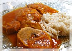 Gourmande sans gluten: Osso bucco de veau au curcuma