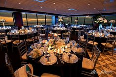 Breathtaking views of Seattle makes Columbia Tower Club for the perfect wedding destination Wedding Set Up, Wedding Film, Purple Wedding, Perfect Wedding, Dream Wedding, Wedding Stuff, Wedding Ideas, Event Venues, Wedding Venues