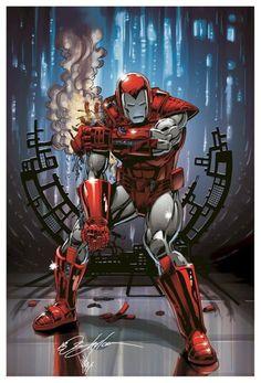 Comic Book Artwork • Iron Man by Bob Layton