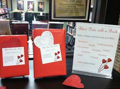 """Blind Date with a Book at MPL (includes """"dating profiles"""" for 49 YA titles!)"""