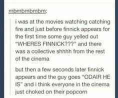 Eternal love for Finnick Odair