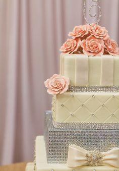 Lovely rose cake