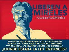 """Mireles, preso político de autodefensas de Michoacán, asegura que Castillo """"miente y traiciona"""""""