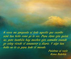 Palabras al vuelo -  Koroa Batekin