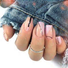 Semi-permanent varnish, false nails, patches: which manicure to choose? - My Nails Perfect Nails, Gorgeous Nails, Love Nails, Pretty Nails, My Nails, Minimalist Nails, Nail Decorations, Short Nails, Halloween Nails