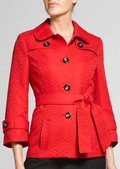 Gotta be a Mary Kay Consultant with 3+ active team members to get this beautiful red jacket!
