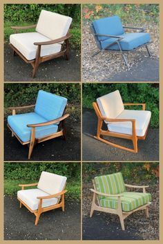 Every home should have one, a mid century modern chair that is. These accent lounge chairs are handcrafted by my own fair hands and finished to professional standards. Choose from a choice of woods and fabrics or even go industrial with a steel look. Click for more information. #MideCenturyModernChair #MidCenturyModernFurniture #AccentChair #LoungeChair #DanishFurniture