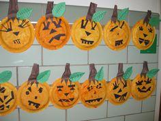Plate Pumpkins, gr.K