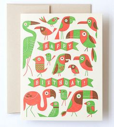 Birdy Birthday by Esther Aarts, via Flickr