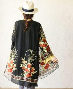 【楽天市場】【再入荷♪8月19日12時&22時より】「french」贅沢な刺繍の羽織りカーディガン:cawaii