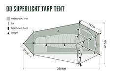 DD SuperLight - Tarp Tent: Amazon.co.uk: Sports & Outdoors Hiking Tent, Camping, Survival Skills, Backpacking, Adventure, Sports, Sleep, Outdoors, Products