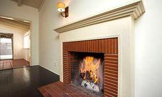 original 1930s fireplace