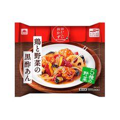 あけぼの おいしいおかず <鶏と野菜の黒酢あん> - 食@新製品 - 『新製品』から食の今と明日を見る!