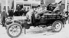 In 1908 racers attempted to drive from New York to Paris in the dead of winter. It got complicated.