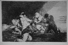 "Francisco Goya, One Can't Look (plate 26 of ""Disasters of War""), 1810-1815."