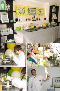 Mad Science Birthday Party Experiments