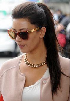 Sugar Bean Jewelry Single Stud Initial Earrings Kim Kardashian Style