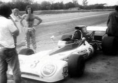 Eddie Keizen Tyrell 004 in 1973 and some of Ralf Pike. One Championship, Formula One, F1, Motors, South Africa, Growing Up, African, Racing, Sports