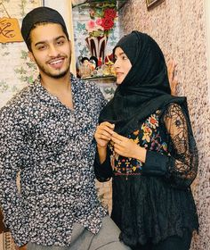 Image may contain: 2 people Cute Muslim Couples, Cute Couples Photos, Stylish Girls Photos, Girl Photos, Beautiful Girl Photo, Beautiful Couple, Beautiful Boys, Best Couple Pictures, Couple Dps