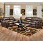 Jackson Furniture - Brantley 2 Piece Bonded Leather Sofa Set in Java - 4430-03-S+L-JAVA
