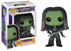 Guardians of the Galaxy POP! Vinyl Figur Gamora 10 cm