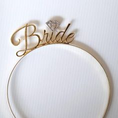 "Looking for something to wear for your bachelorette or kitchen tea? Not a fan of a veil? Then our ""Bride"" Alice bands are the perfect addition to your outfit. Available in Gold with silver glitter diamond Diamond Glitter, Silver Glitter, Bachelorette Party Themes, Alice Band, Theme Ideas, Veil, Bands, Outfit, Kitchen"