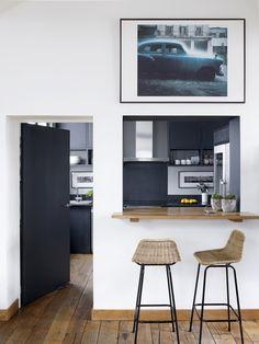Classic Kitchen Layouts For Kitchen Design Kitchen Room Design, Modern Kitchen Design, Modern Interior Design, Kitchen Interior, Kitchen Layouts, Kitchen Decor, Loft Design, Küchen Design, Paris Loft