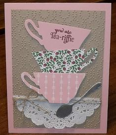 Stampin' on the Prairie: March Card Club