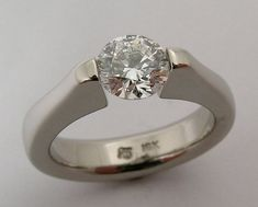 Very Rare 1 ct Canadian Diamond tension set in by WatertonJewelry, $25000.00