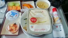 I know it's not from L.A. but the best flight meal I had! From LAX to ICN on Asiana Airlines
