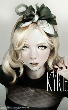 Kyrie is a Korean illustrator who freelances mostly for the games industry.