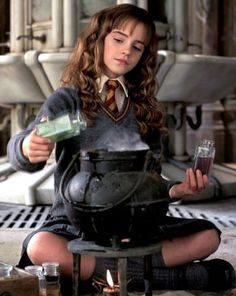 "Emma Watson as 'Hermione Granger' in ""Harry Potter and the Chamber of Secrets"""