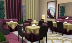 OleSims: Set for the restaurant • Sims 4 Downloads
